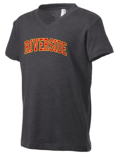 Riverside Elementary School Riverside Bears Kid's V-Neck Jersey T-Shirt