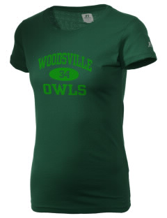 Woodsville Elementary School Owls  Russell Women's Campus T-Shirt
