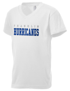 Franklin Middle School Hurricanes Kid's V-Neck Jersey T-Shirt