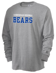Winnisquam Regional High School Bears  Russell Men's Long Sleeve T-Shirt