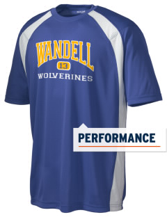 Wandell Elementary School Wallabees Men's Dry Zone Colorblock T-Shirt