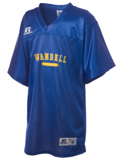 Wandell Elementary School Wallabees Russell Kid's Replica Football Jersey