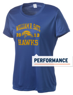 William R. Satz School Hawks Women's Competitor Performance T-Shirt
