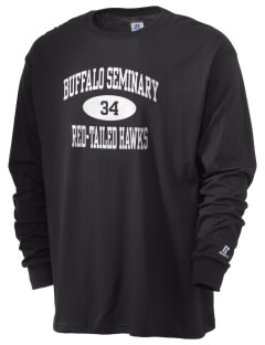 Buffalo Seminary Red-Tailed Hawks  Russell Men's Long Sleeve T-Shirt