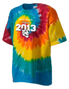 Hamilton Primary School Tigers Kid's Tie-Dye T-Shirt