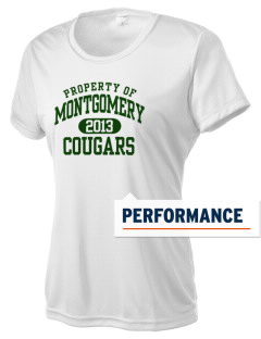 Montgomery Middle School Cougars Women's Competitor Performance T-Shirt