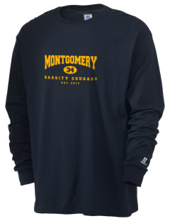 Montgomery Middle School Cougars  Russell Men's Long Sleeve T-Shirt
