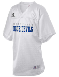 Westfield High School Blue Devils Russell Kid's Replica Football Jersey