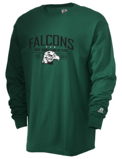 Liberty Township Elementary School Falcons  Russell Men's Long Sleeve T-Shirt