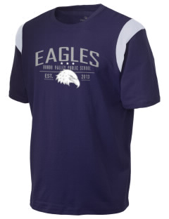 Hondo Valley Public School Eagles Holloway Men's Rush T-Shirt