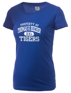 Thomas K Beecher Elementary School Tigers  Russell Women's Campus T-Shirt