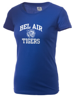 Bel Air Elementary School Tigers  Russell Women's Campus T-Shirt