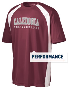 Caledonia High School Confederates Men's Dry Zone Colorblock T-Shirt