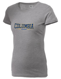 Columbia Primary School Wildcats  Russell Women's Campus T-Shirt