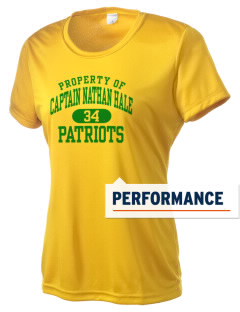 Captain Nathan Hale Middle School Patriots Women's Competitor Performance T-Shirt