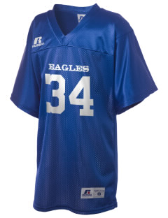Eastgate Middle School Eagles Russell Kid's Replica Football Jersey