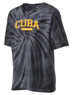 Cuba Middle School Wildcats Kid's Tie-Dye T-Shirt