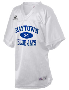 Raytown High School Blue Jays Russell Kid's Replica Football Jersey
