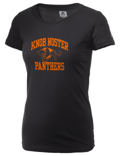 Knob Noster High School Panthers  Russell Women's Campus T-Shirt
