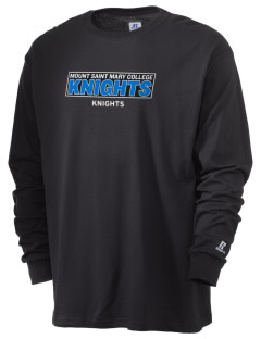 Mount Saint Mary College Knights  Russell Men's Long Sleeve T-Shirt