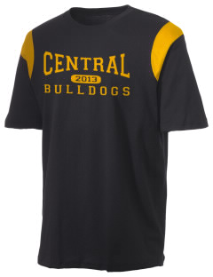 Central Elementary School Bulldogs Holloway Men's Rush T-Shirt