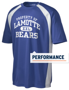 Lamotte Elementary School Bears Men's Dry Zone Colorblock T-Shirt