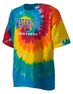Waterloo School Panthers Kid's Tie-Dye T-Shirt
