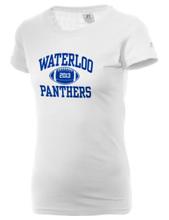 Waterloo School Panthers  Russell Women's Campus T-Shirt