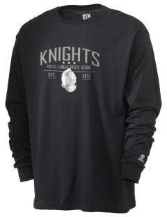 Eustis-Farnam Public School Knights  Russell Men's Long Sleeve T-Shirt