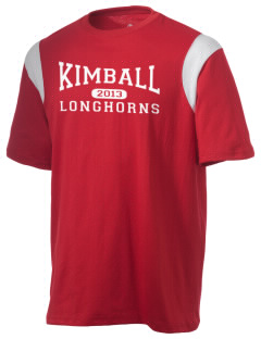 Kimball High School Longhorns Holloway Men's Rush T-Shirt