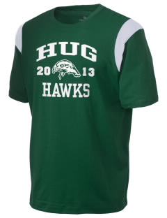 Hug High School Hawks Holloway Men's Rush T-Shirt