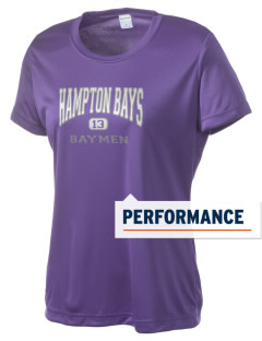 Hampton Bays Secondary School Baymen Women's Competitor Performance T-Shirt