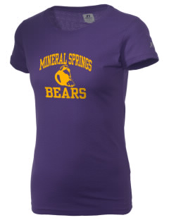 Mineral Springs Elementary School Bears  Russell Women's Campus T-Shirt