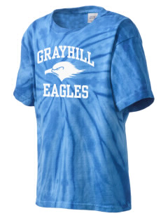 Grayhill Elementary School Eagles Kid's Tie-Dye T-Shirt