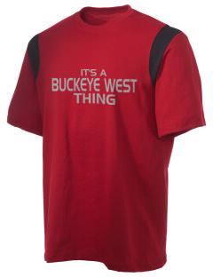 Buckeye West Elementary School Bucks Holloway Men's Rush T-Shirt