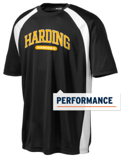 Harding Middle School Hawks Men's Dry Zone Colorblock T-Shirt