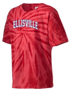 Ellisville Elementary School Warriors Kid's Tie-Dye T-Shirt