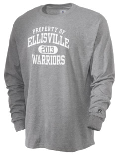 Ellisville Elementary School Warriors  Russell Men's Long Sleeve T-Shirt