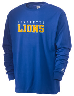 Leverette Junior High School Lions  Russell Men's Long Sleeve T-Shirt