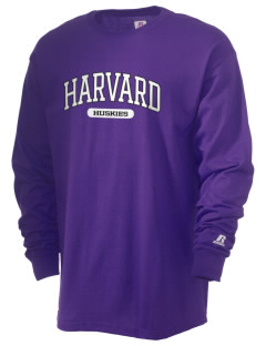 Harvard Elementary School Huskies  Russell Men's Long Sleeve T-Shirt