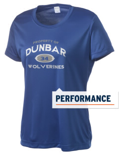 Dunbar High School Wolverines Women's Competitor Performance T-Shirt