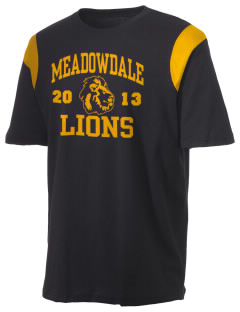 Meadowdale High School Lions Holloway Men's Rush T-Shirt