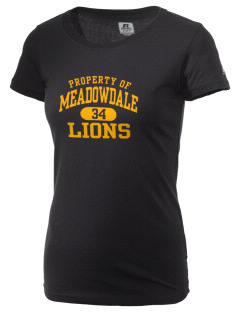 Meadowdale High School Lions  Russell Women's Campus T-Shirt