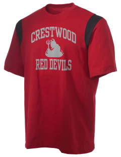Crestwood Middle School Red Devils Holloway Men's Rush T-Shirt