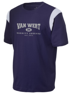 Van Wert High School Cougars Holloway Men's Rush T-Shirt