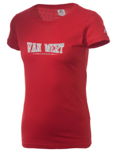Van Wert High School Cougars  Russell Women's Campus T-Shirt
