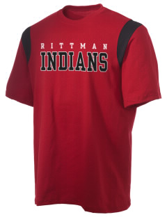 Rittman High School Indians Holloway Men's Rush T-Shirt