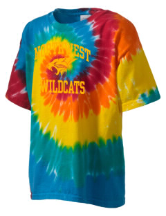 Northwest 6th Grade Center Wildcats Kid's Tie-Dye T-Shirt