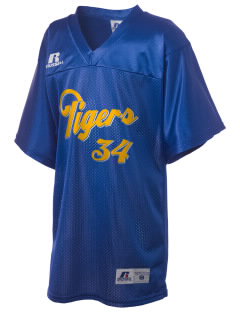 Jackson Elementary School Tigers Russell Kid's Replica Football Jersey