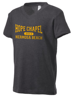 Hope Chapel Academy Hermosa Beach Kid's V-Neck Jersey T-Shirt